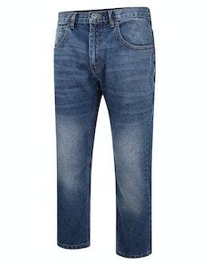 Bigdude Non Stretch Loose Fit Jeans Dark Wash