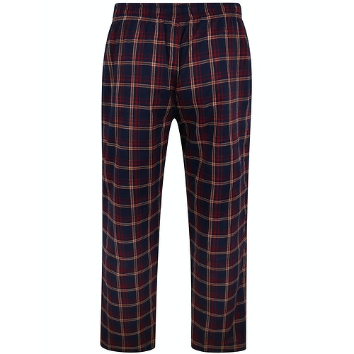 Bigdude Check Lounge Pants Pepper Red