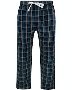 Bigdude Check Lounge Pants Deep Green