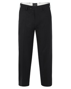 Tooting & Brow Essential Formal Trousers Black