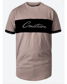D555 Falcon Couture Cut & Sew T-Shirt Stone