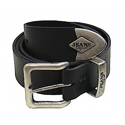 Black Heavy Duty Jeans Belt