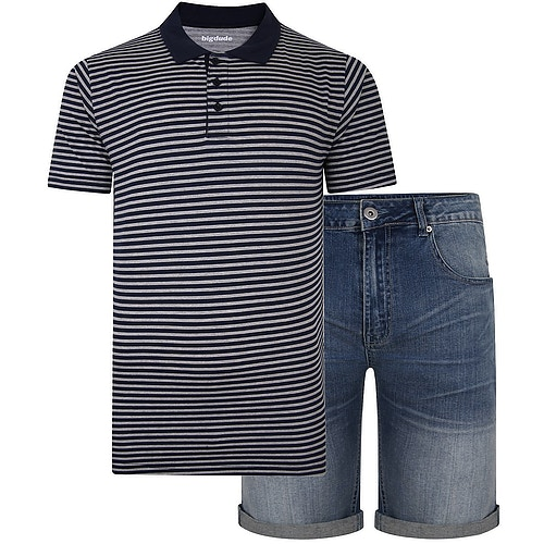 Bigdude Polo Shirt & Shorts Bundle 5