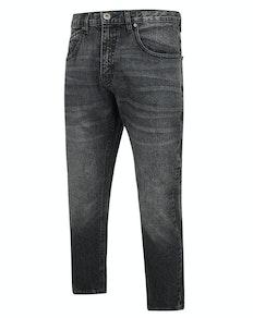 Bigdude Non Stretch Loose Fit Jeans Black Wash