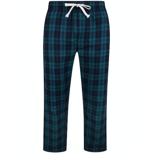 Bigdude Check Lounge Pants Green/Navy