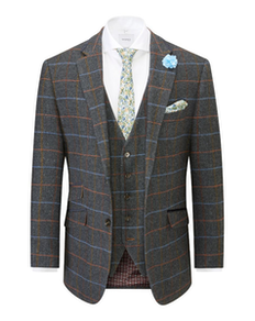 Skopes Tailored Doyle Jacket Grey/Blue