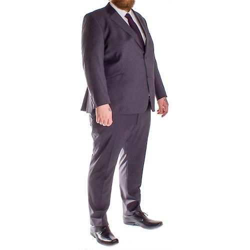 Hugo James Hazan Suit Charcoal