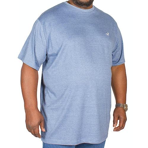 Bigdude Marl Effect T-Shirt Denim