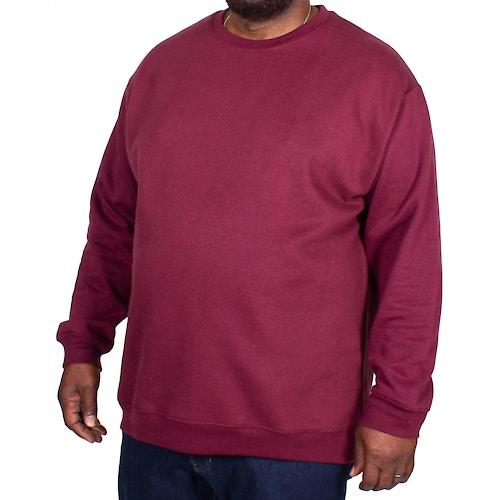 Bigdude Essentials Pullover Weinrot