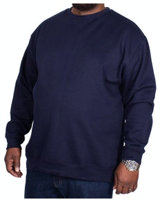 Bigdude Essentials Pullover Marineblau