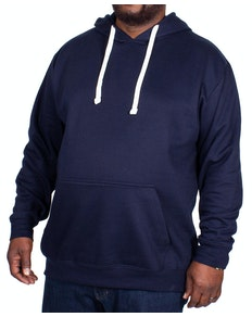 Bigdude Essentials Pullover Hoody Navy Tall
