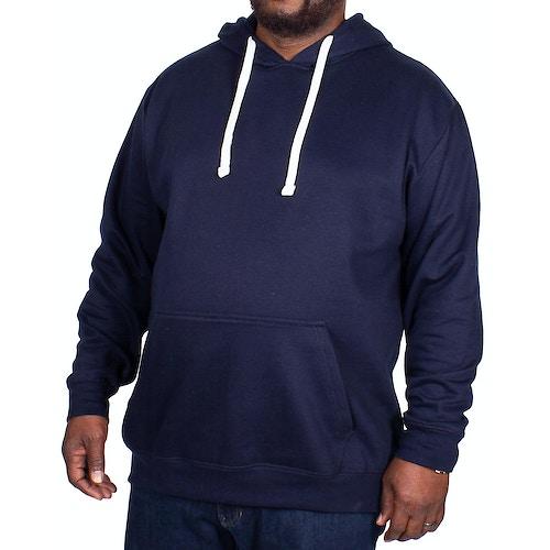 Bigdude Essentials Pullover Hoody Navy Tall