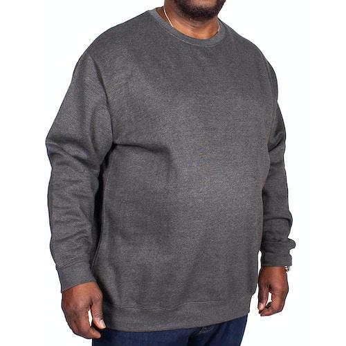 Bigdude Essentials Pullover Grau