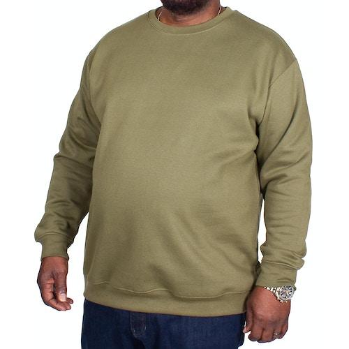 Bigdude Essentials Pullover Khaki Tall Fit