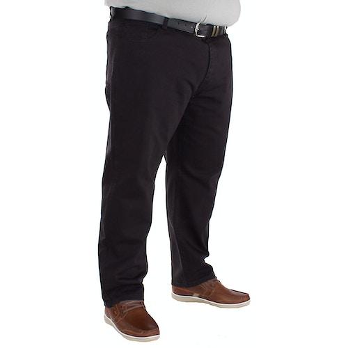Carabou Schwarze Arbeiter Jeans