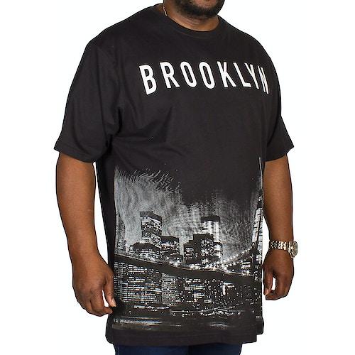 Kam Brooklyn Printed T-shirt Black