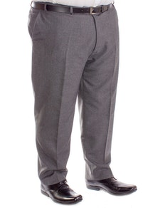 Carabou Durapress Formal Trousers Charcoal