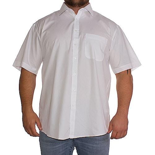 Espionage White Classic Short Sleeved Shirt