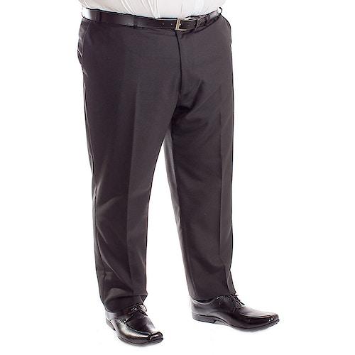 Carabou Durapress Formal Trousers Black