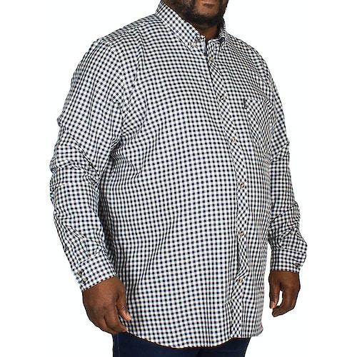 Ben Sherman Brushed Gingham Shirt Navy