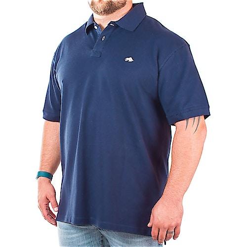 Raging Bull Navy Signature Polo Shirt