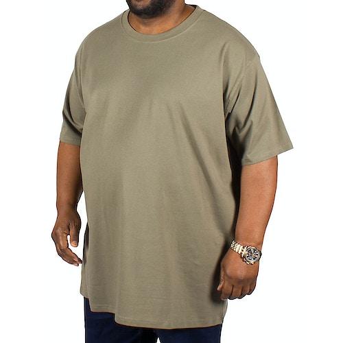 D555 Premium Cotton T-Shirts Khaki