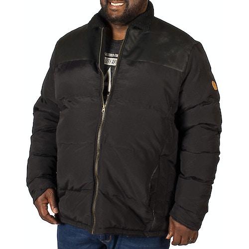 D555 Forlan Padded Jacket Black