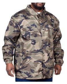 Bigdude Camouflage Windjacke Khaki