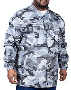 Bigdude Camouflage Windjacke Grau