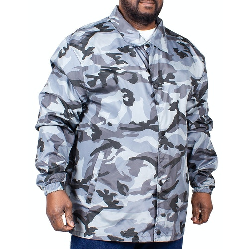 Bigdude Lightweight Camouflage Jacket Grey