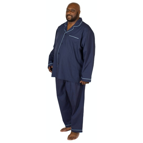 Espionage Traditional Pyjama Set Navy