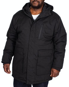 Bigdude Utility Coat Black