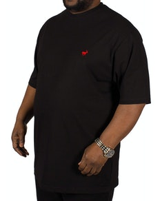 Bigdude Signature Crew Neck T-Shirt - Black