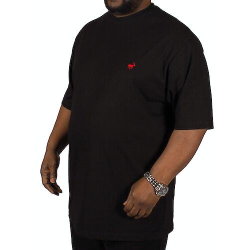 Bigdude Signature Crew Neck T-Shirt - Black