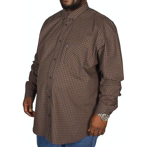 Ben Sherman Micro Check Shirt Mustard