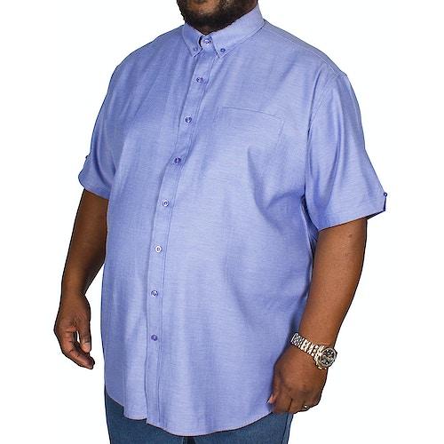 Espionage Oxford Short Sleeve Shirt Blue