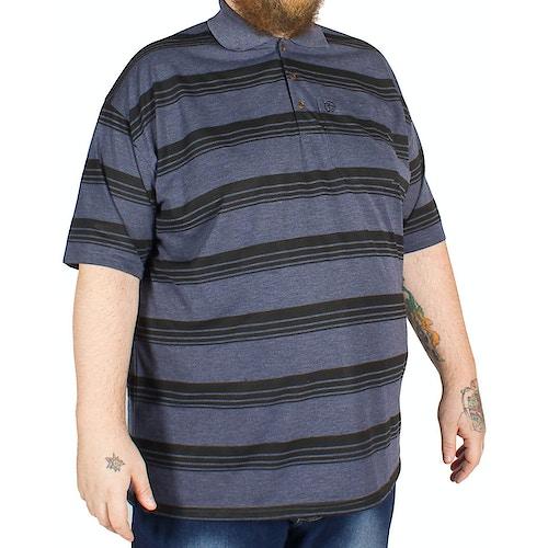 Brooklyn Andre Stripe Polo Shirt Black