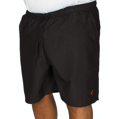 Bigdude Plain Swim Shorts Black