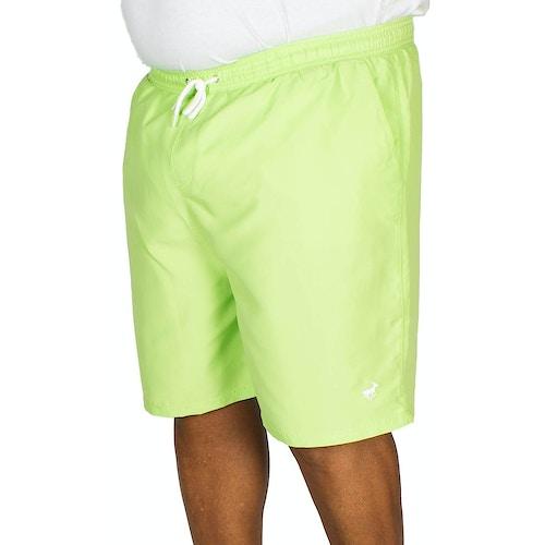 Bigdude Plain Swim Shorts Green