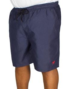 Bigdude Plain Swim Shorts Navy