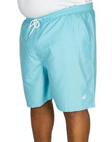 Bigdude Plain Swim Shorts Light Blue