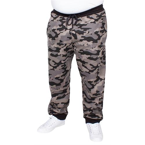Bigdude Camouflage Joggingshose Grau