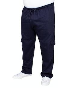 Bigdude Straight Leg Cargo Joggers Navy