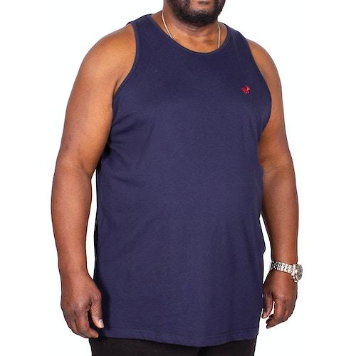 Bigdude Signature Vest Navy Tall