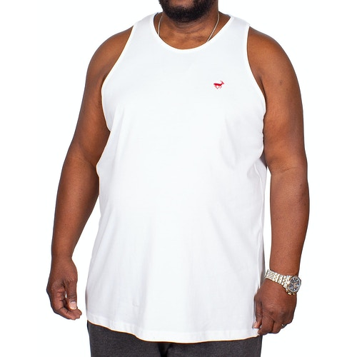 Bigdude Signature Vest White Tall