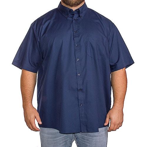 Espionage Traditional Short Sleeve Plain Shirt