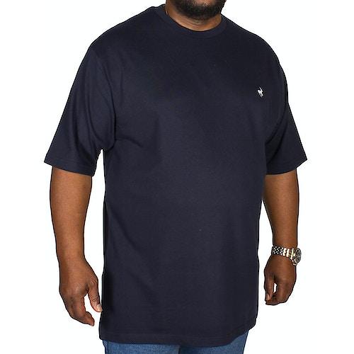 Bigdude Signature Crew Neck T-Shirt Navy