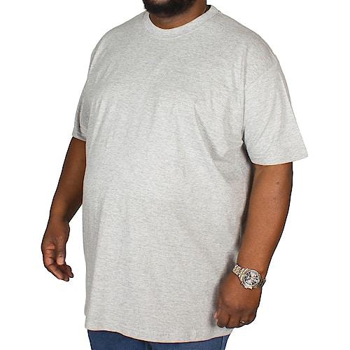Bigdude Plain Crew Neck T-Shirt- Grey
