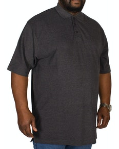 Bigdude Poloshirt Anthrazit Tall Fit