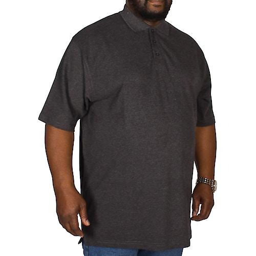 Bigdude Poloshirt Anthrazit Tall Fit